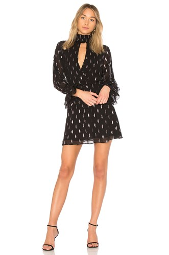 Parker Shelli Dress Black eddL2R