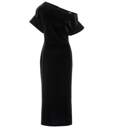 Christopher Kane One Shoulder Dress Black 1X1Vm