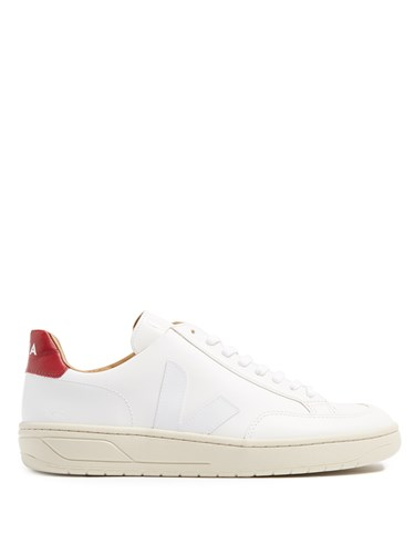 Low Multi V White Top 12 Trainers Leather Veja 6wExqPWfq