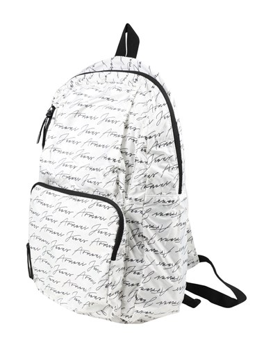 Armani Jeans Backpacks And Fanny Packs White O9d9Sorn