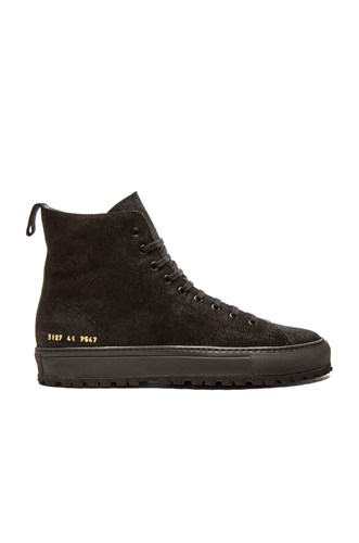 Common Projects Tournament High Lug Black AWHVWCjZs