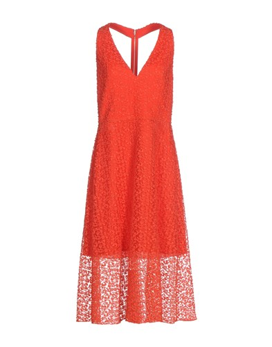 Alice + Olivia 3 4 Length Dresses Red DDy4bdUpA
