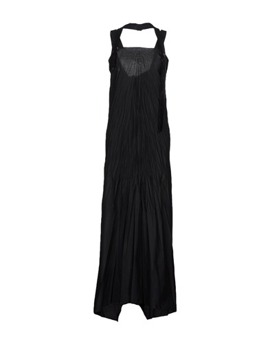 Malloni Long Dresses Black Dw1hdyC