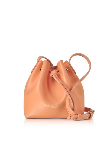 Lancaster Paris Handbags Pur Smooth Leather Mini Bucket Bag MMReSUs37