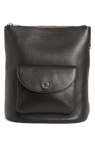Alexander Wang Ace Leather Backpack Black IDASY1Gtsp