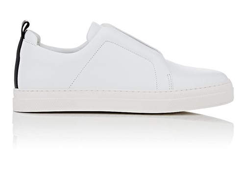 Pierre Hardy Slider Leather Sneakers White KSCWbDm