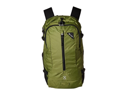 Pacsafe Venturesafe X22 Anti Theft Adventure Backpack Olive Green Backpack Bags WNUKW