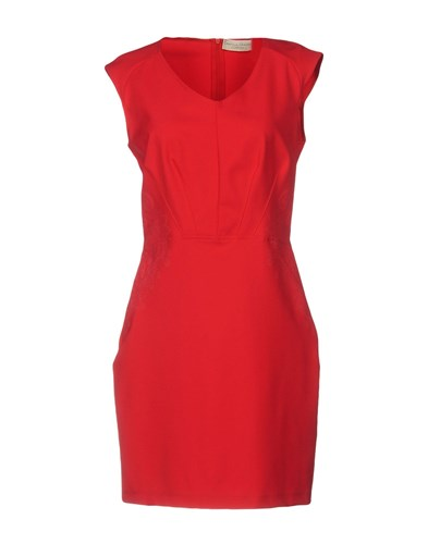 CRISTINA GAVIOLI COLLECTION Short Dresses Coral LywrlyCg4