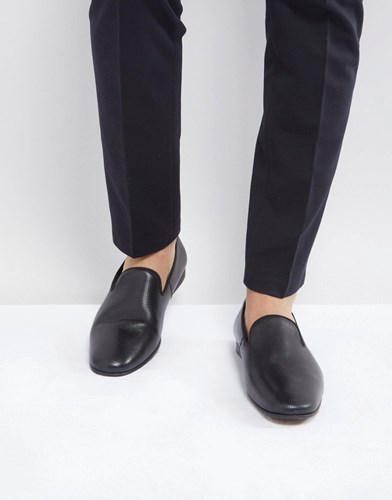 Zign Leather Smart Loafer In Black Oy3Hurk6
