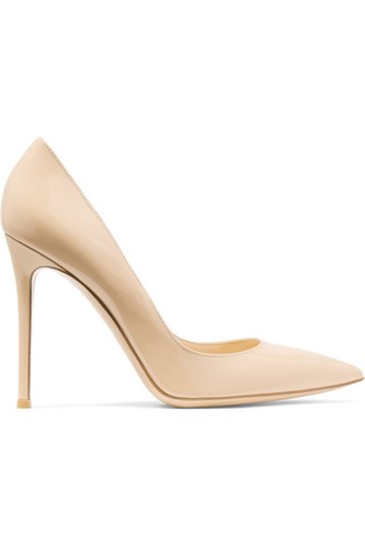 Gianvito Rossi 105 Patent Leather Pumps Neutral zG9yyUXR