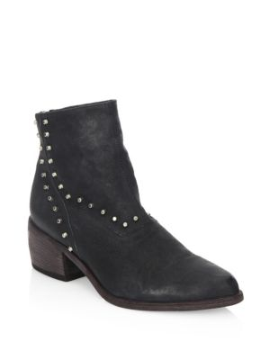 The Black Ld Ankle Leather Tuttle Boots Door SOwqwf5v