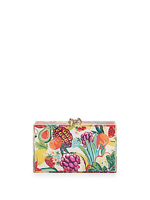 Charlotte Olympia Two Piece Crystal Embellished Clutch And Pouch Set Multi jwGCf3