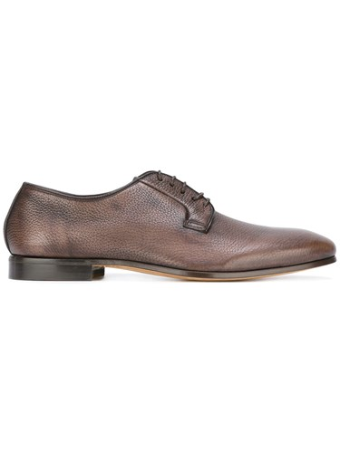 Fabi Grained Derbies Brown DQdmdojx7A