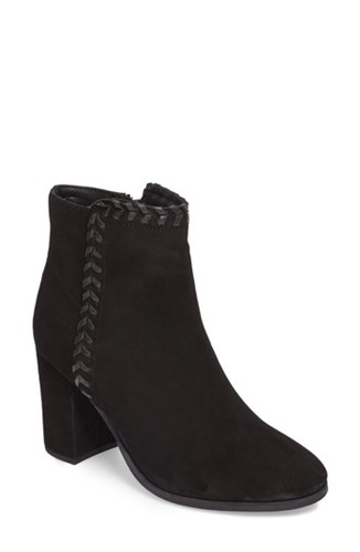 Athena Alexander 'S Heavenly Bootie Black Suede yT2Nvy7