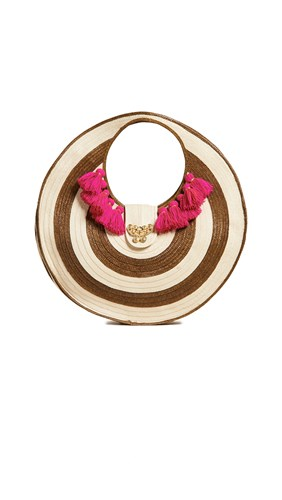 The Way U Straw Round Bag Zenu Natural cON1eOYf