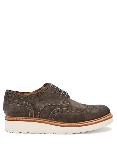 Brogues Archie Grenson Archie Suede Grey Grenson Iw6nxq8T