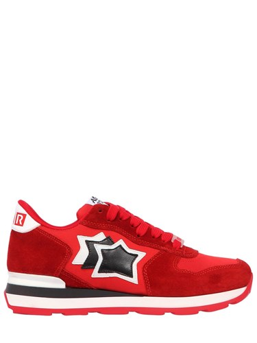 Atlantic Stars Lvr Edition Vega Suede And Nylon Sneakers Red W8DQYie