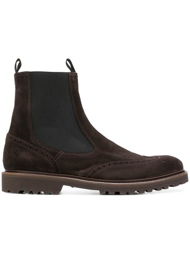 Eleventy Ankle Boots Brown 9GfwRb