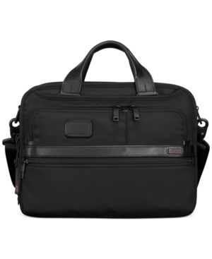 Tumi Alpha Small Screen Expandable Laptop Briefcase pPNFo