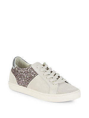 Dolce Vita Starlaglitter Leather Sneakers Rose Gold wu0AmRa