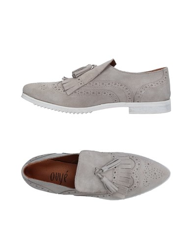 Ovye' By Cristina Lucchi Loafers Light Grey otlMVU934J