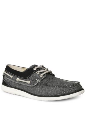 GBX Eastern Flux Boat Shoes Black 7rBdaRSA