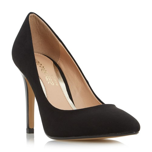 Head Over Heels Alice Pointed Court Shoes Black 7aReK