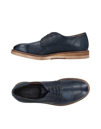 Bagatt Lace Up Shoes Dark Blue Fova0mz9G