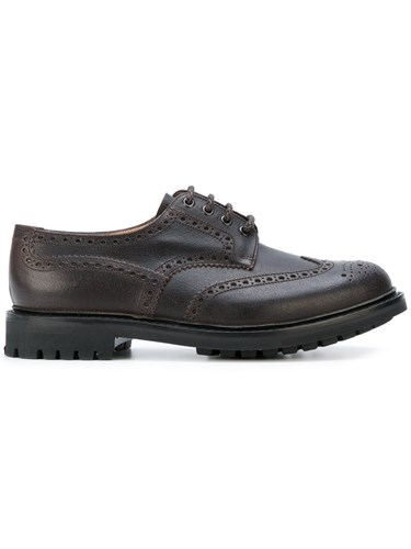 Church's Classic Derby Shoes Men Calf Leather Leather Rubber 6 Brown UTKD7OU3yM