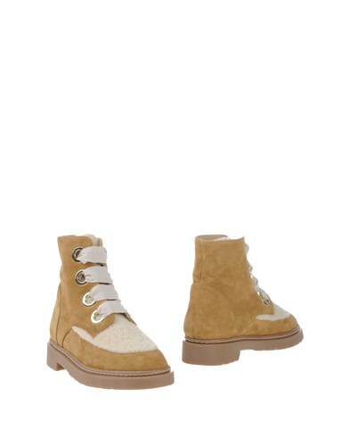 Paul & Joe Ankle Boots Beige p4w3ydxn