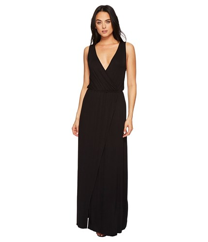 American Rose Jain Maxi Dress Black Women's Dress PN9Nj