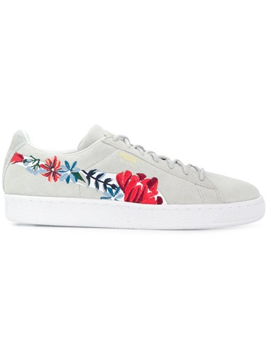 Grey Floral Sneakers Puma Hyper Embroidered 6CSxYqP