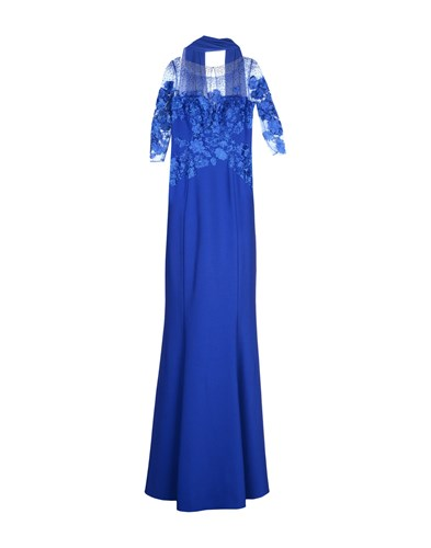 MUSANI GOLD Long Dresses Bright Blue sBPene