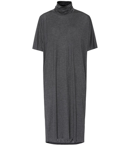 Acne Studios Louie Jersey T Shirt Dress Grey IY6Ofj