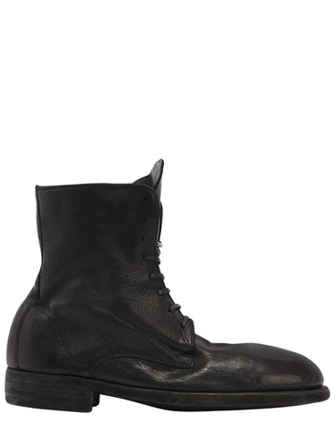 GUIDI 1896 995 Lace Up Leather Boots dlNiboovM