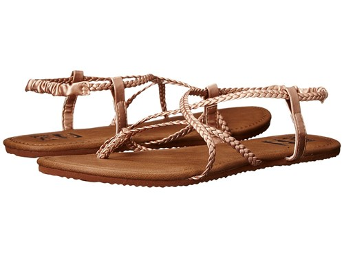 Rose 1 Multi Over Gold Billabong Brown Crossing Women's Sandals BqwgFX