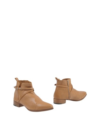 SPAZIOMODA Ankle Boots Sand 2FyI1hP