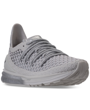Puma Women's Ignite Limitless Netfit Chandelier Casual Sneakers From Finish Line Glacier Gray Gray rT1tIlA