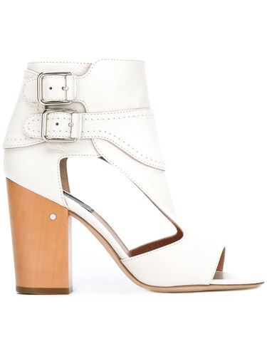 White Length Ankle Laurence Sandals Dacade Aq4ywI