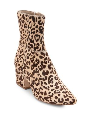 Matisse At Ease Calf Hair Booties Leopard 1FP6PJ7
