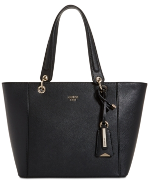 GUESS Kamryn Extra Large Tote Black bpiaUmFnZ1