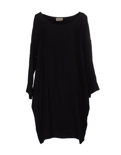 Momoni Short Dresses Black hoS08