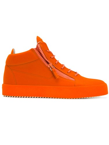 Giuseppe Zanotti Design Hi Top Sneakers Yellow And Orange laCg0tT8