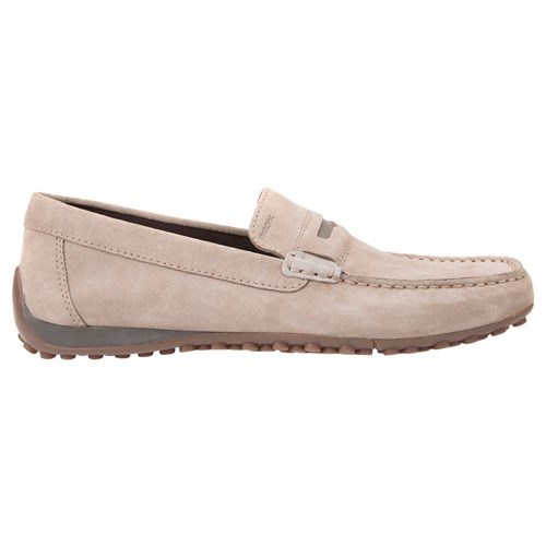Geox Snake Leather Moccasins Taupe uMczL
