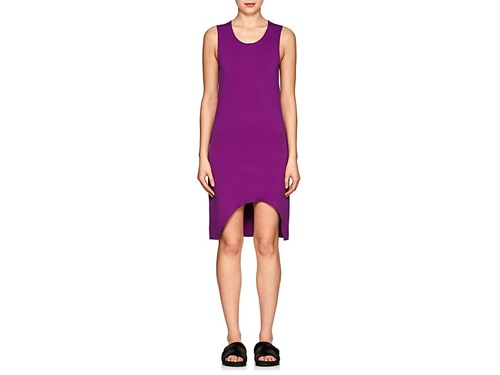 Helmut Lang Stretch Knit Shift Dress Purple 4QX8vJe