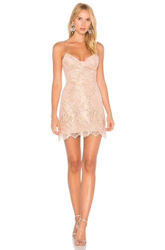 For Love & Lemons Bumble Bustier Dress Rose nCBgY1IrZk