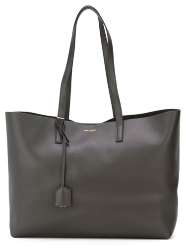 Saint Laurent Medium Shopper Tote Grey 9PIkM15