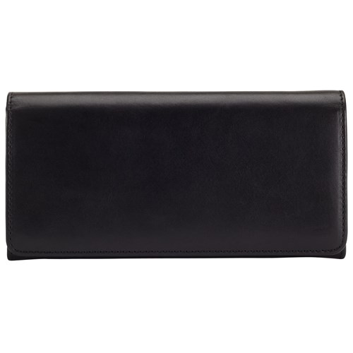 John Lewis Lizzie Leather Slim Continental Purse Black PR8zkOBS