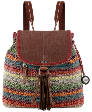 The Sak Avalon Convertible Crochet Backpack A Macy's Exclusive Style Gypsy Stripe ZNFhcR