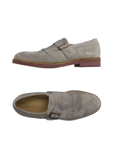 Mr Wolf Mr. Footwear Moccasins Men Light Grey vm0ltW